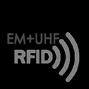 Hybrid Electromagnetic UHF RFID